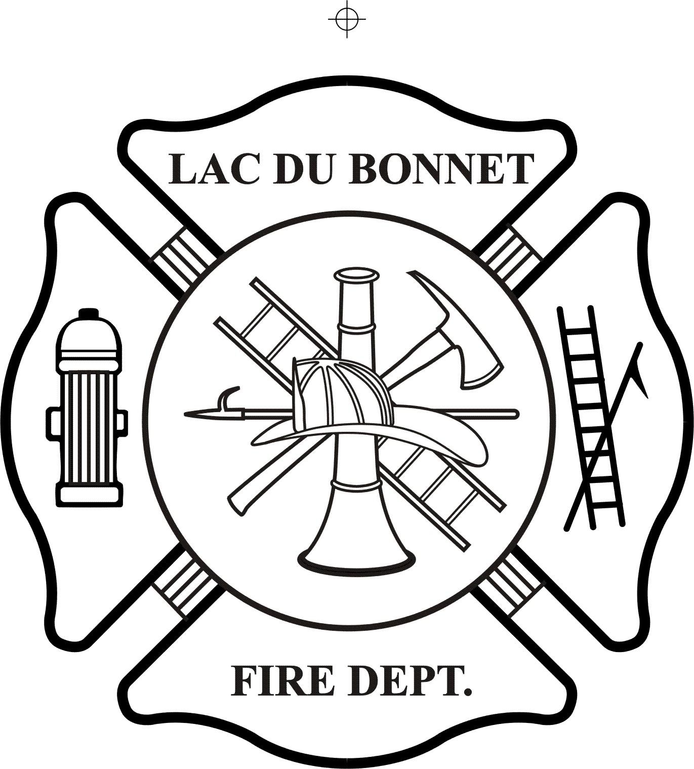 Fire Department Maltese Cross Clipart.