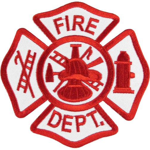 Fire Department Shield Clipart.