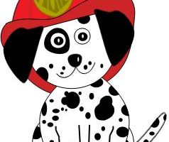 Fire dog clipart 1 » Clipart Station.