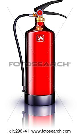 Clipart of fire service k15296741.
