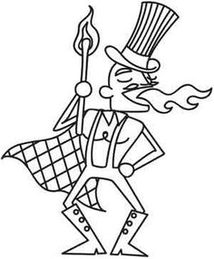 Fire eater clipart.