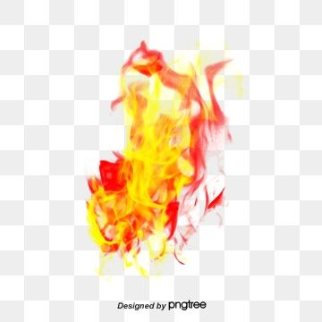 Red Flame Material, Flame Clipart, Flame, Flame Effect PNG.