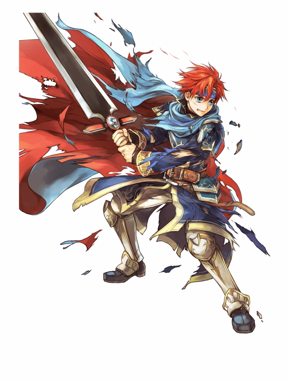 Roy Fire Emblem Free PNG Images & Clipart Download #3346784.