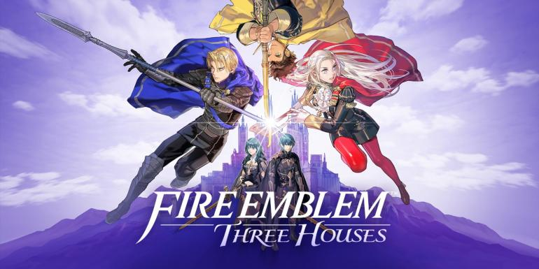 Fire Emblem: Three Houses.