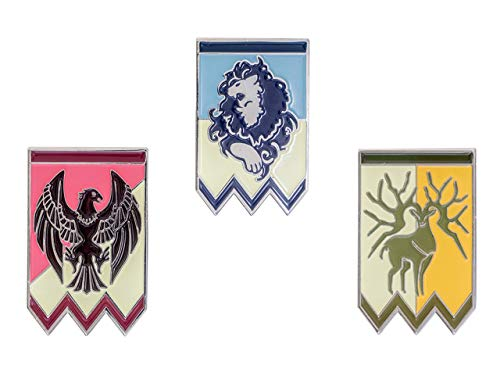 Coslive Fire Emblem Badges Pin Set for Three Houses Costume Accessories.