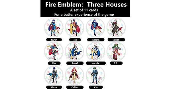 Amazon.com: XYR NFC Cards for The Fire Emblem: Three Houses.
