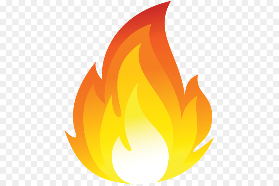 Emoji Fire clipart.