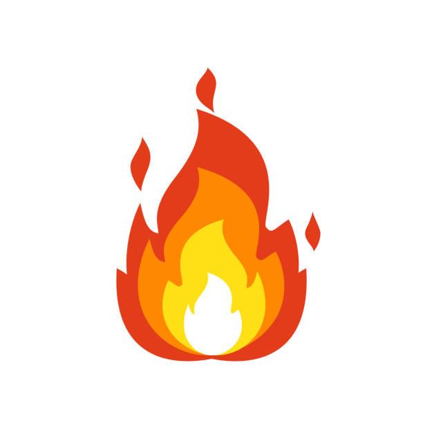 Best Fire Emoji Illustrations, Royalty.