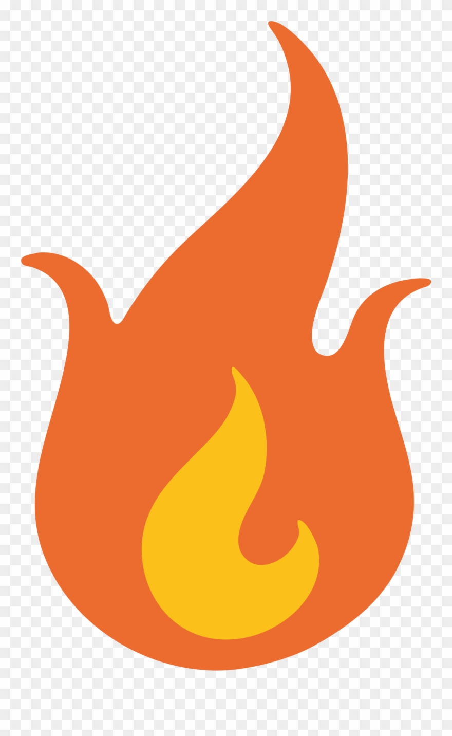 Flame Clipart Emoji.