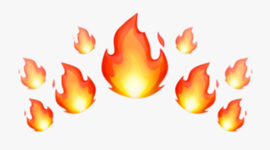 Fire Emoji Crown Png #1356528.