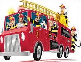 Free Fire Engine Clipart.