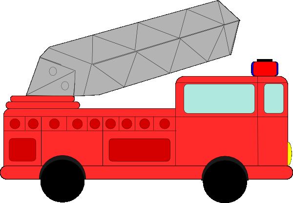 Fire truck fire engine clipart image cartoon firetruck creating 2.