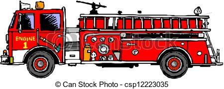 Fire engine Stock Illustrations. 3,400 Fire engine clip art images.
