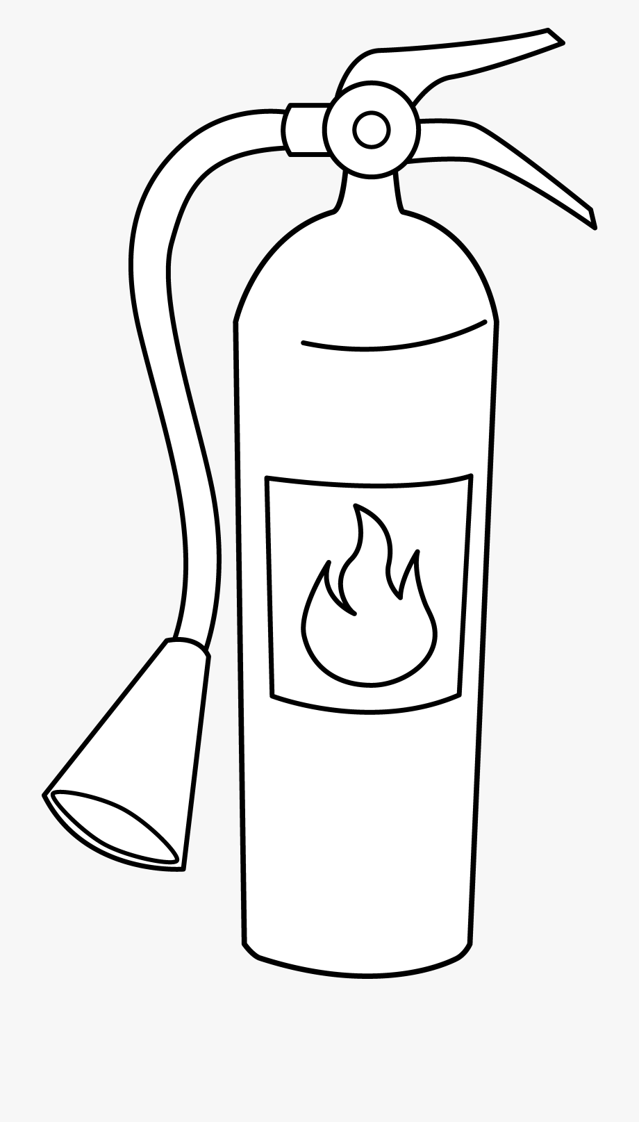 Clipart Fire Extinguisher.