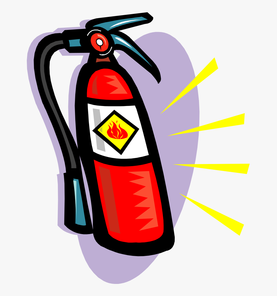 Clip Art Fire Extinguisher #531515.
