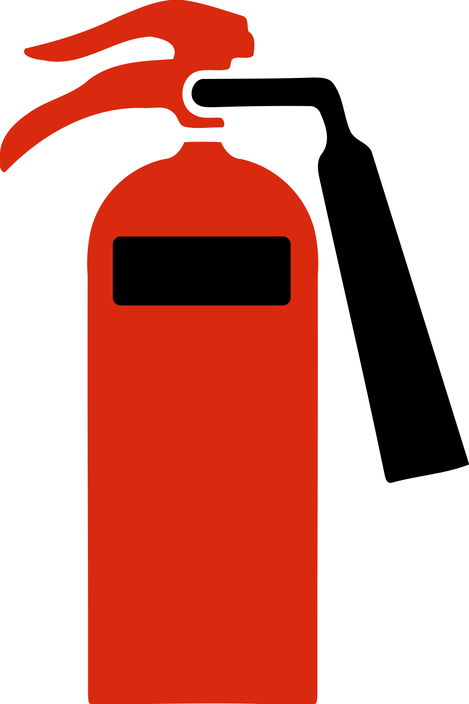 Fire Extinguisher Icon Clipart.