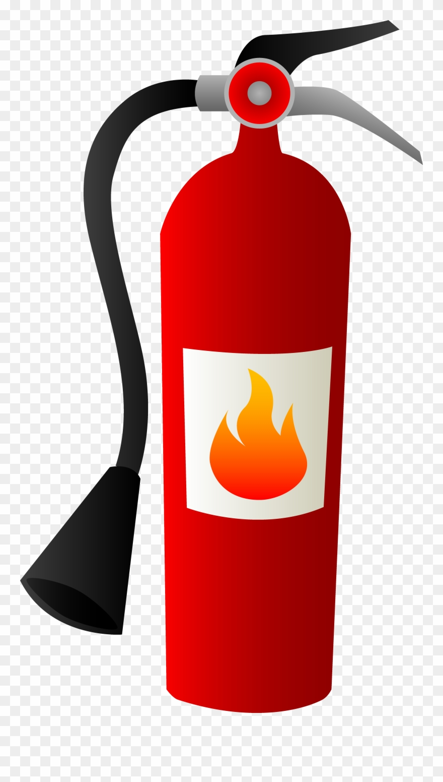 Kitchen Fire Safety Clip Art.