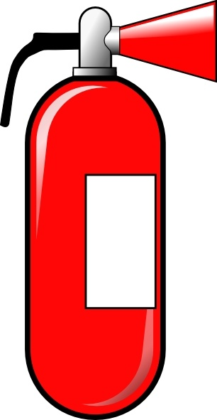 Fire Extinguisher clip art Free vector in Open office.