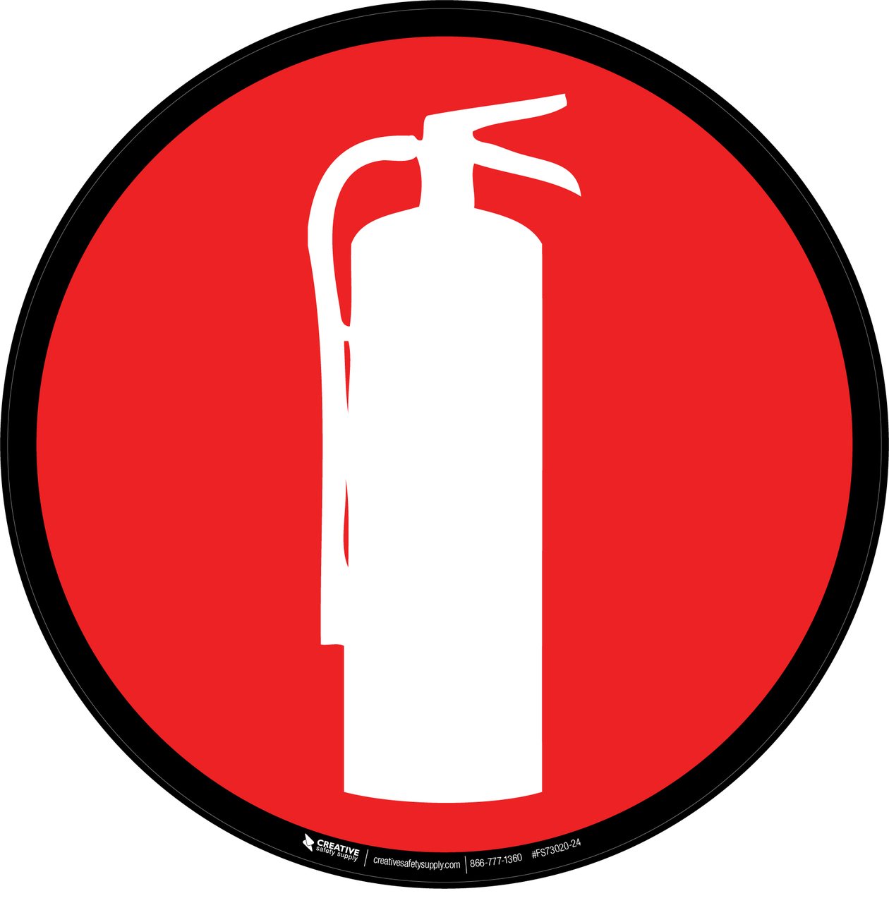 Fire Extinguisher Symbol.