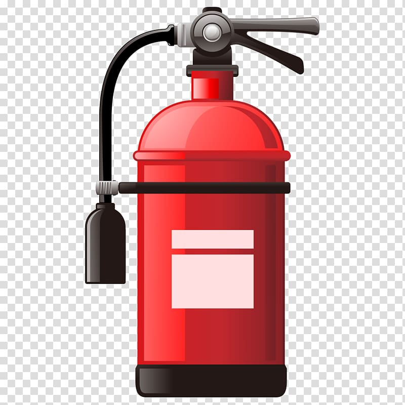 Fire extinguisher transparent background PNG clipart.