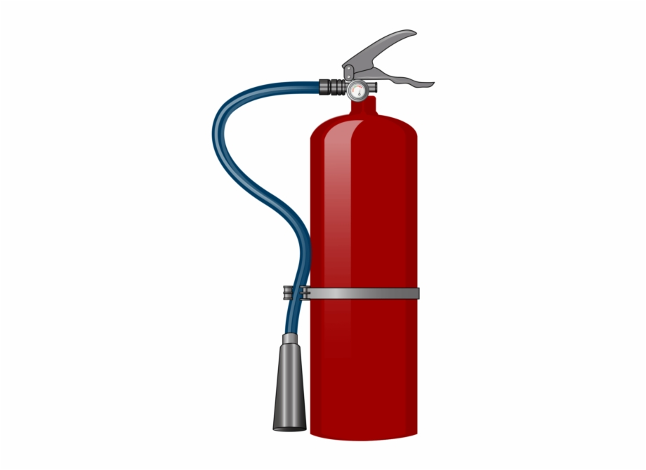 Transparent Fire Extinguisher Clipart Free PNG Images & Clipart.