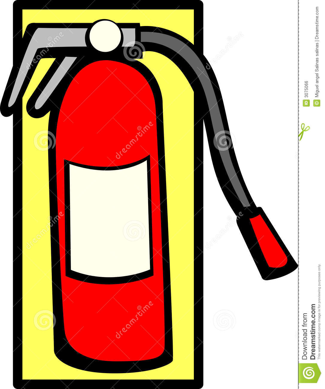 Fire extinguishing clipart - Clipground