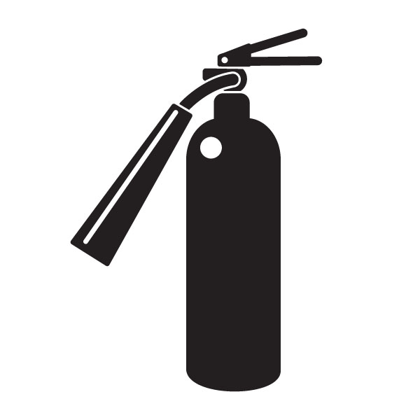 Free Fire Extinguisher Clipart Image.