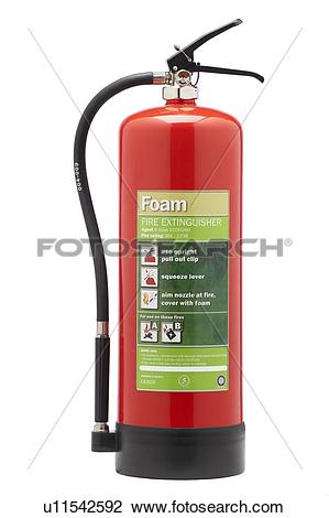 Stock Photo of Foam fire extinguisher u11542592.