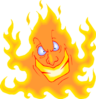 16337 Fire free clipart.