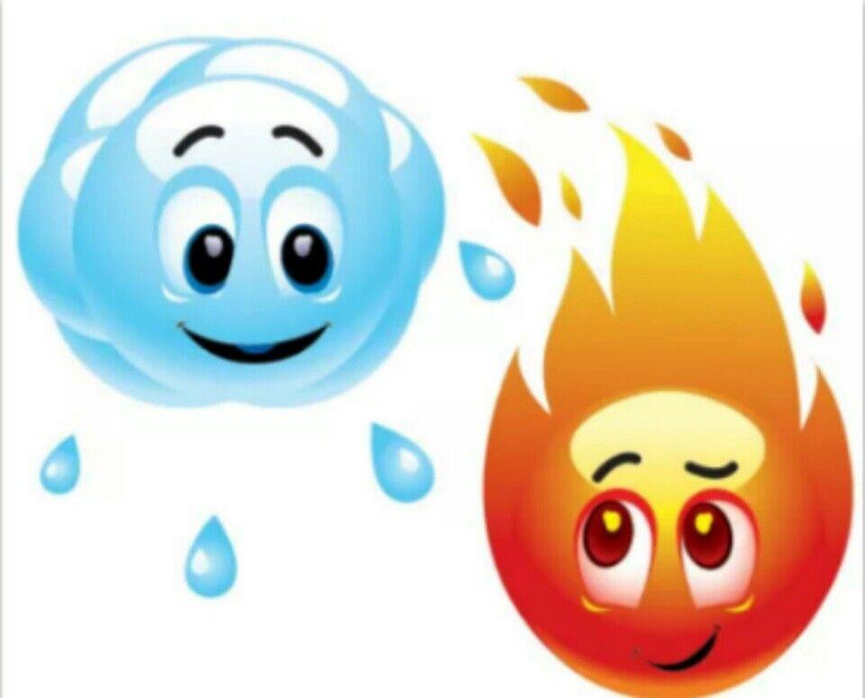 Water & fire.