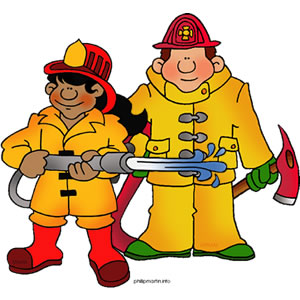 Firefighter Clipart.
