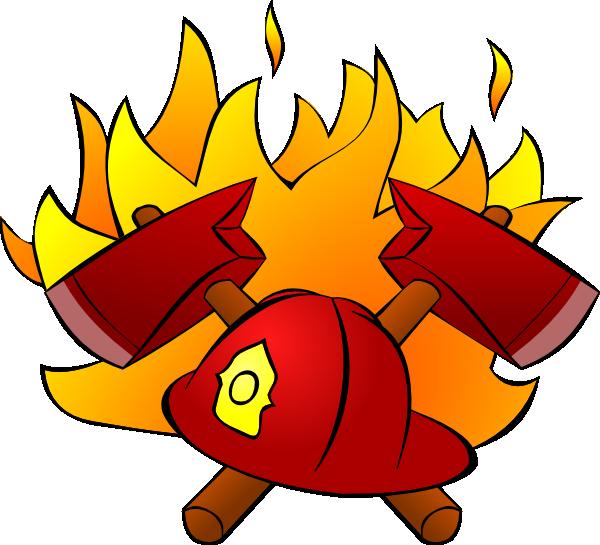 Firefighter Symbol Clipart.
