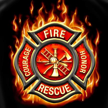 firefighter logo wallpaper.