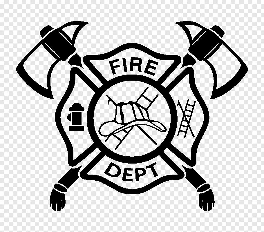 Fire Department logo, Firefighter Fire department Maltese.