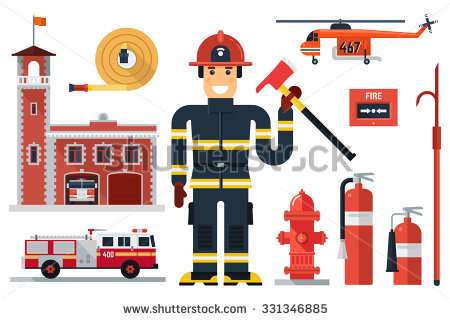 Fire fighting attack clipart - Clipground