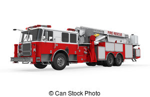 Fire fighting vehicle Stock Illustrations. 368 Fire fighting.