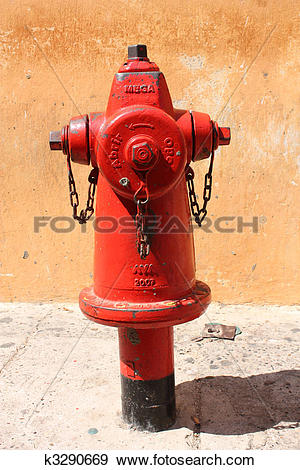 Stock Photograph of water outlet, Firefighting k3290669.