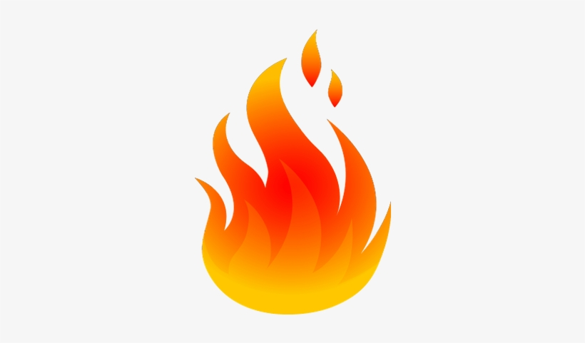Fire Flames Clipart Png.