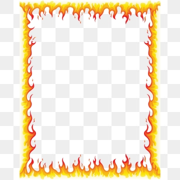 Fire Frame PNG Images.