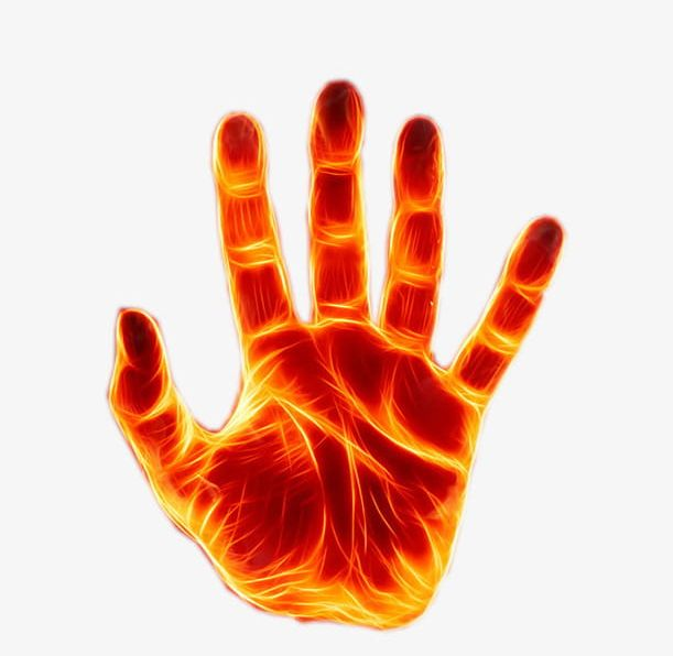 Fire Forces Hand PNG, Clipart, Burning, Burning Hand.