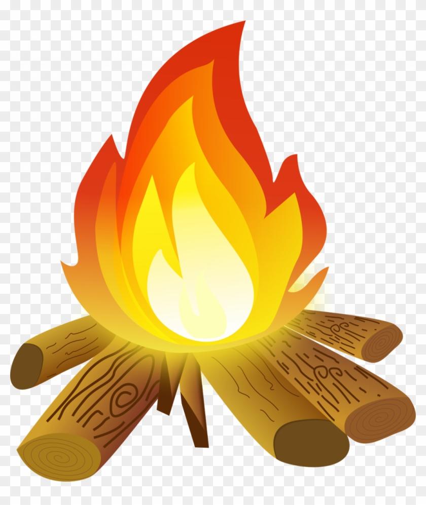 Bright Design Fire Clipart.