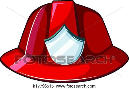 Fire helmet Clipart.