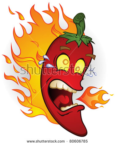 Chili Pepper Cartoon Stock Photos, Royalty.