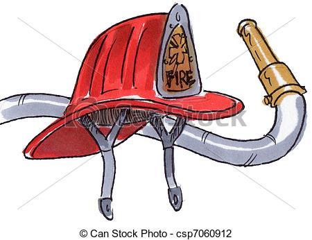 Fire Hose Nozzle Clipart.