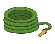 Fire hose clipart.