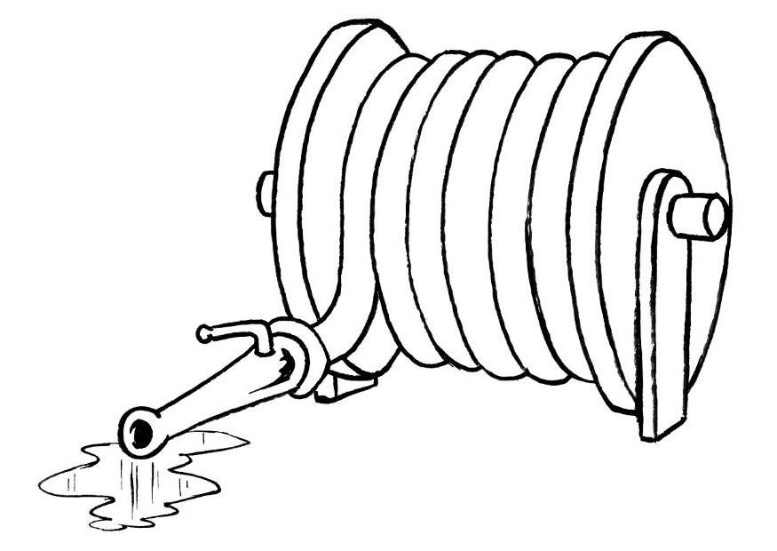 Free Hose Clipart Black And White, Download Free Clip Art.