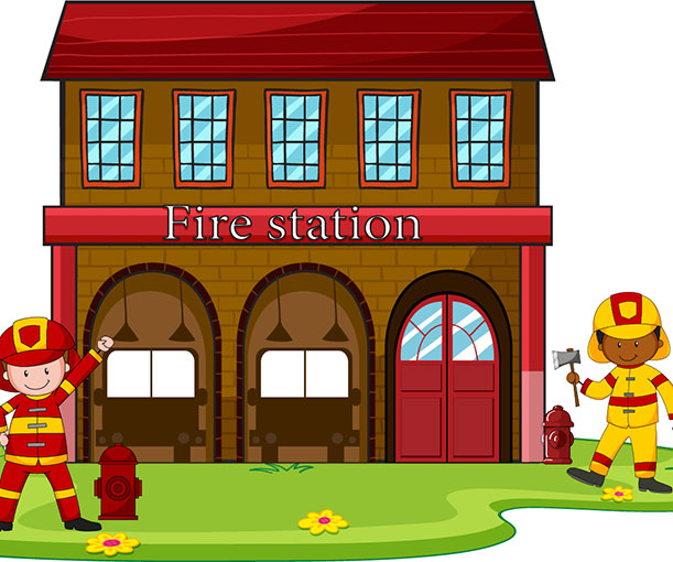 Fire station clipart 10 » Clipart Station.