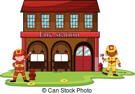 Fire station Stock Illustrations. 2,751 Fire station clip art.