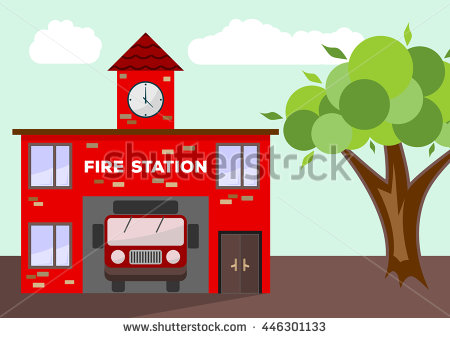 Fire Station Stock Photos, Royalty.