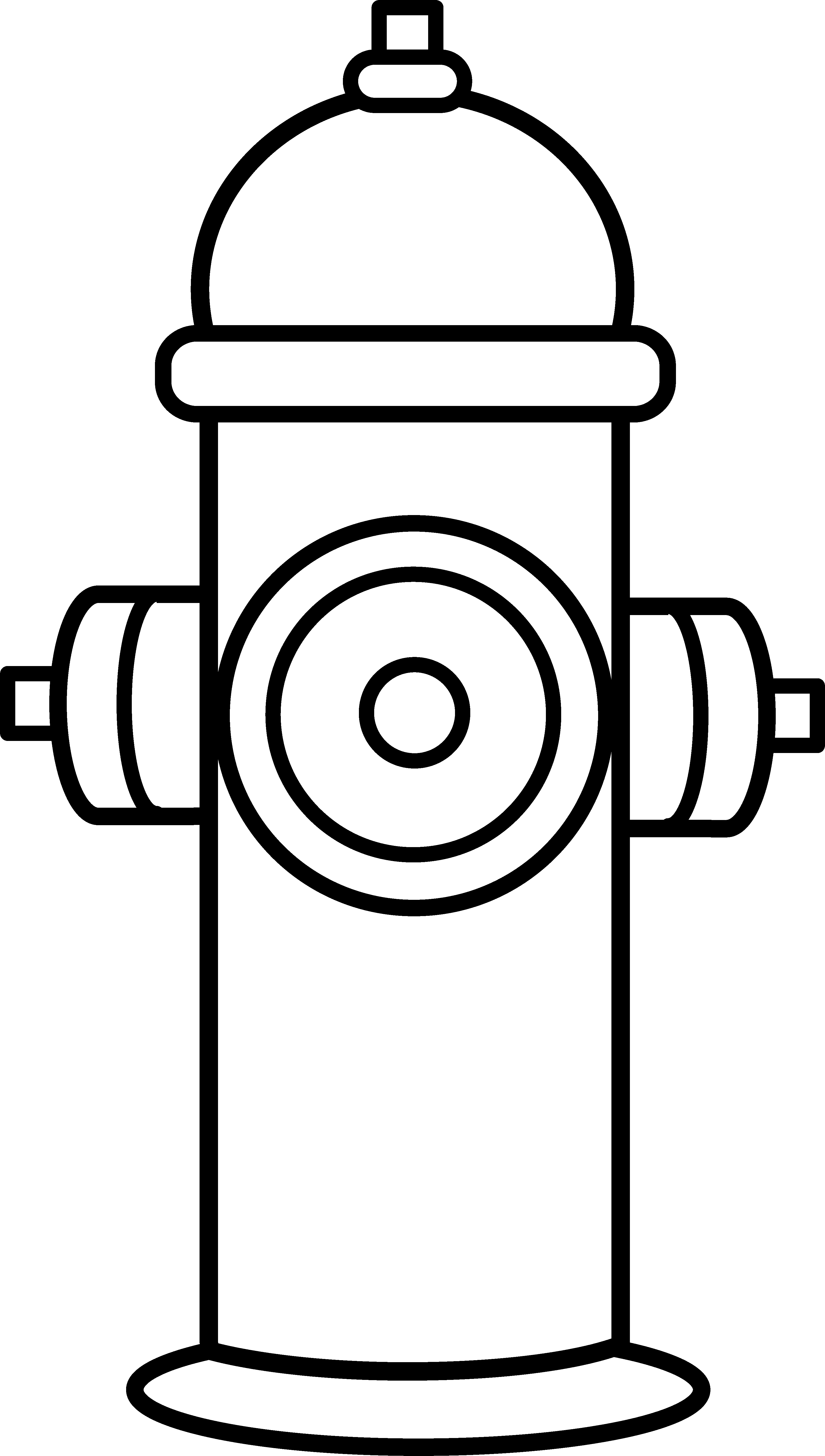 Fire Hydrant Black And White Clipart at Dynamic pickaxe 2019.